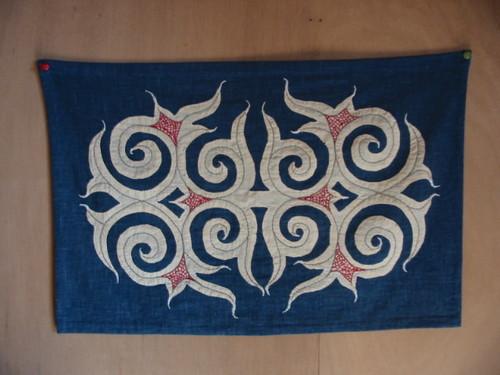 アイヌ刺繍
